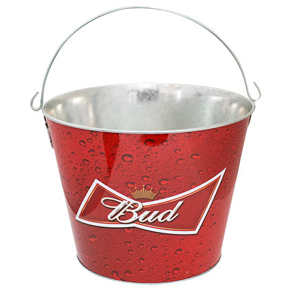 Budweiser Red Bud Ice Bucket