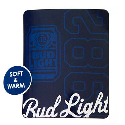 Bud Light 1982 Throw Blanket