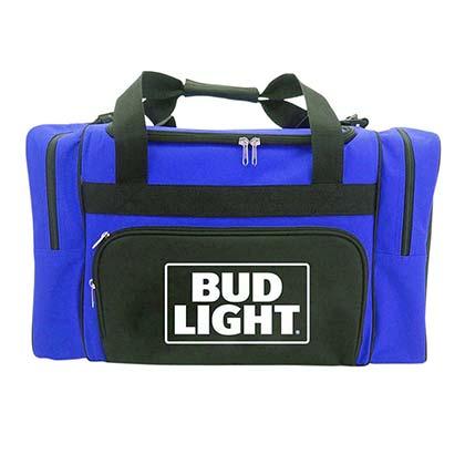 Bud Light Shoulder Strap Duffle Cooler Bag