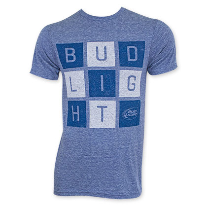 Bud Light Square Letter Logo T-Shirt