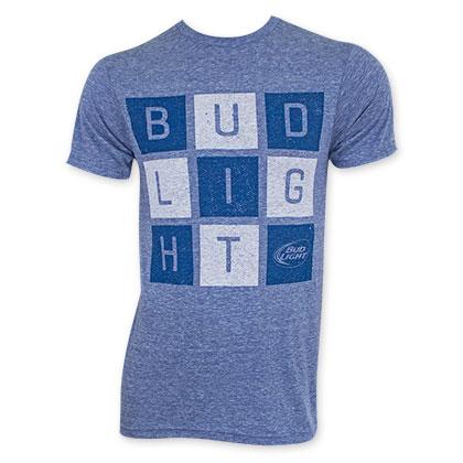 Bud Light Square Letter Logo T-Shirt