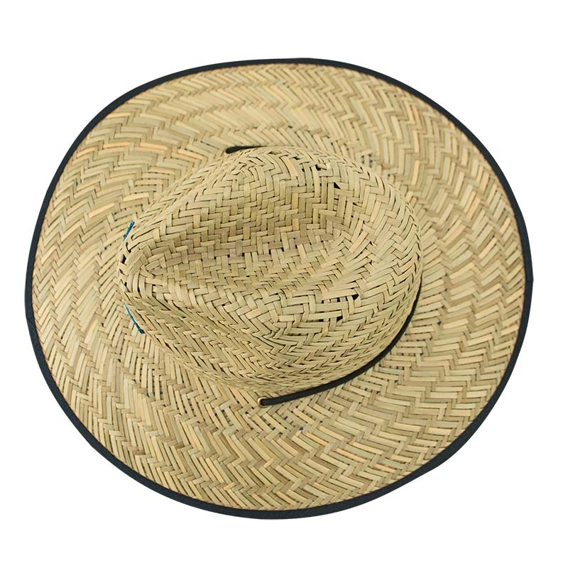 Bud Light Straw Life Guard Hat