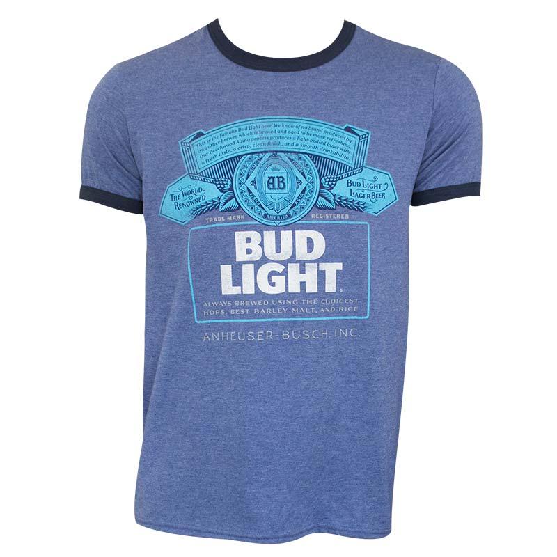 Bud Light Ringer Tee Shirt