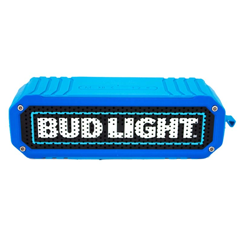 Bud Light Black & Red Rugged Bluetooth Speaker