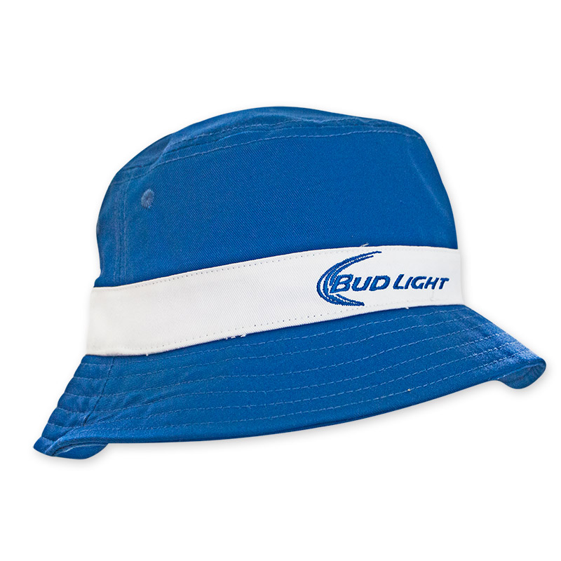 Bud Light Blue White Bucket Hat1 POP.jpg 71b0a65ae23