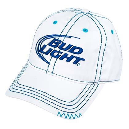 Bud Light Ladies Stitched Hat