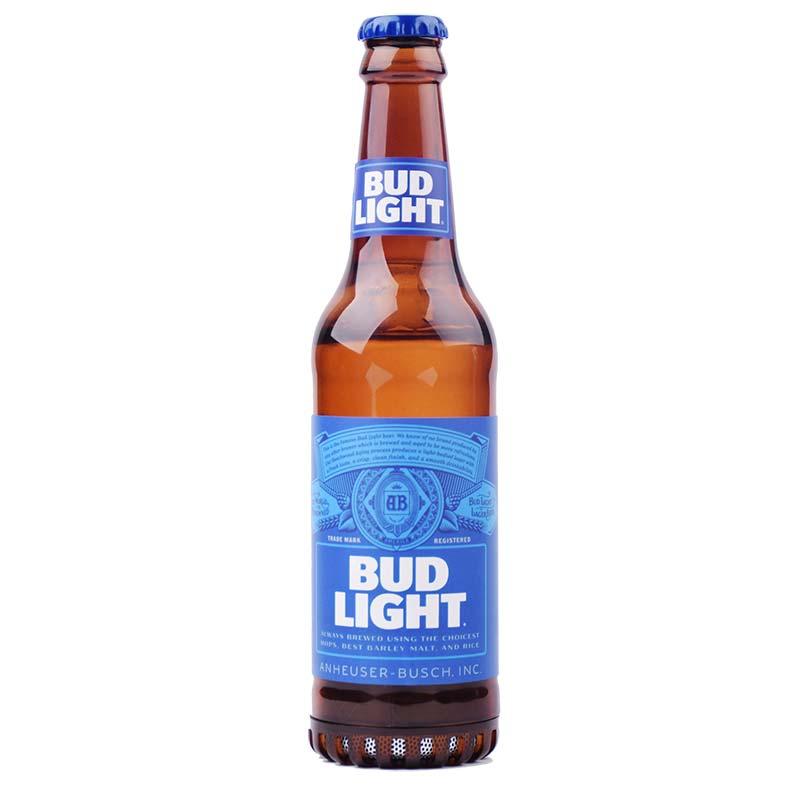 bud light bottle rechargeable bluetooth speaker