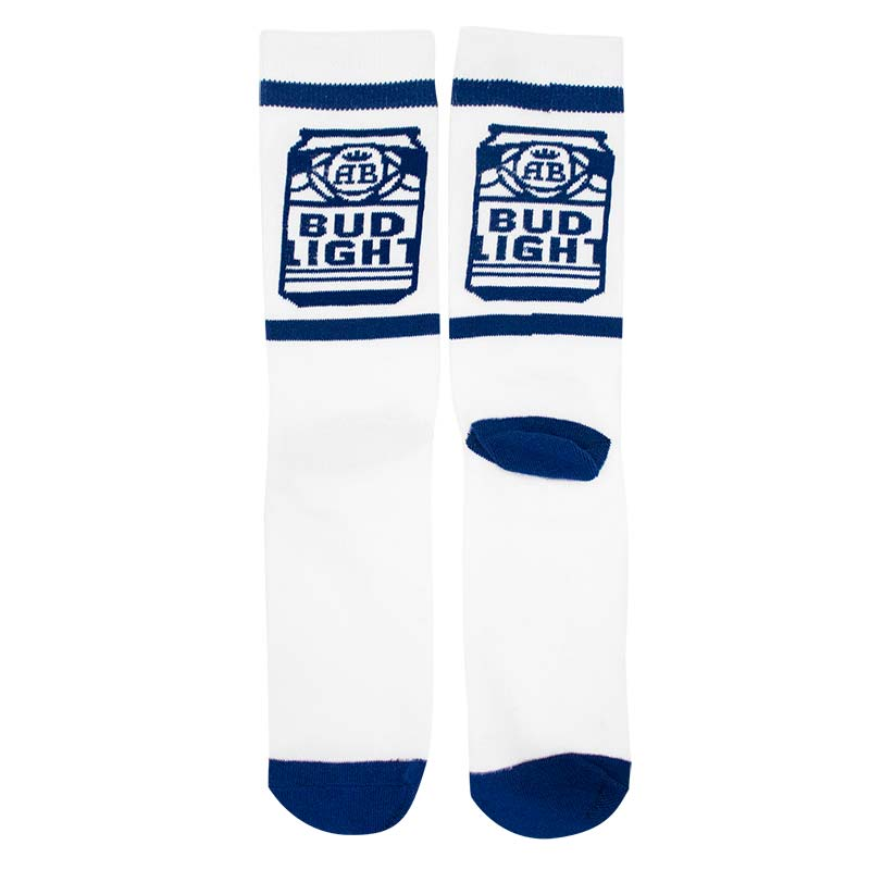 Bud Light Cans Socks