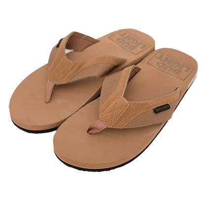 Bud Light Tan Debossed Men's Sandals