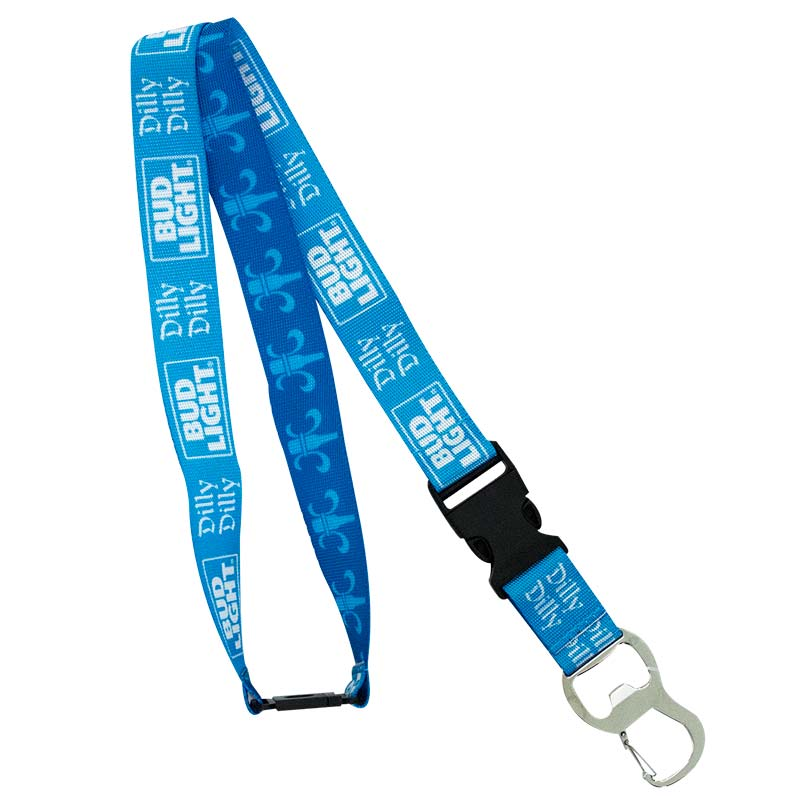 Bud Light Dilly Dilly Lanyard Keychain