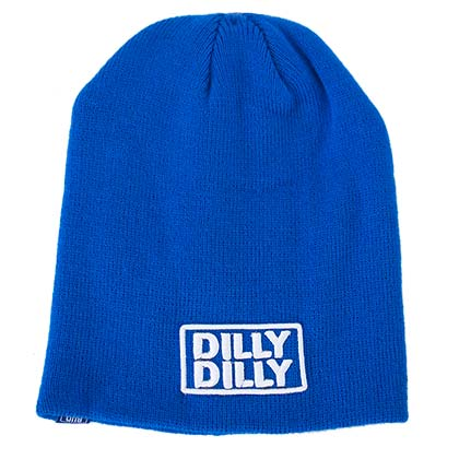 Bud Light Dilly Dilly Blue Beanie