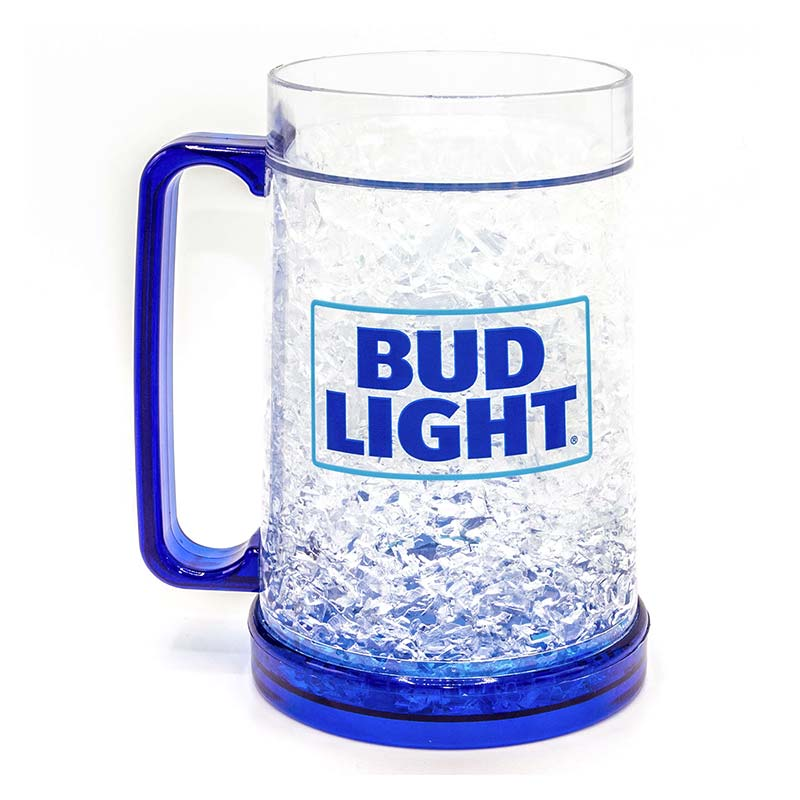 Bud Light 16oz Freezer Beer Mug Stein