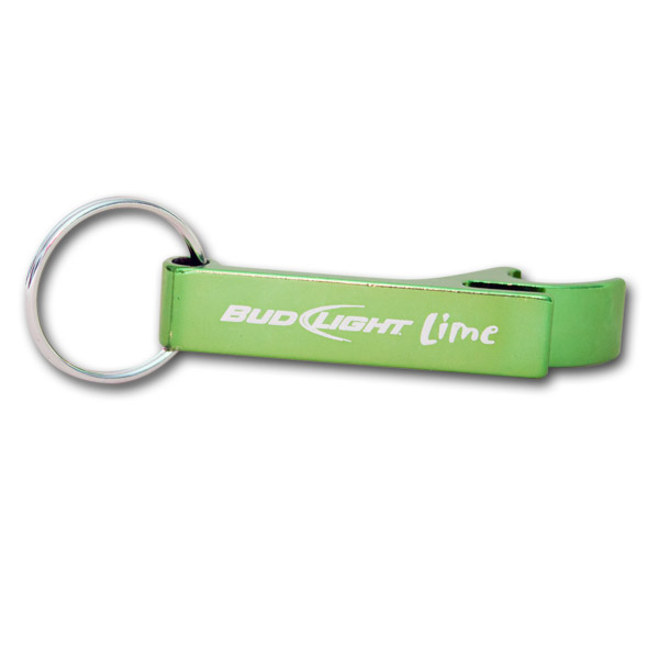 bud light lime bottle opener with keychain. Black Bedroom Furniture Sets. Home Design Ideas