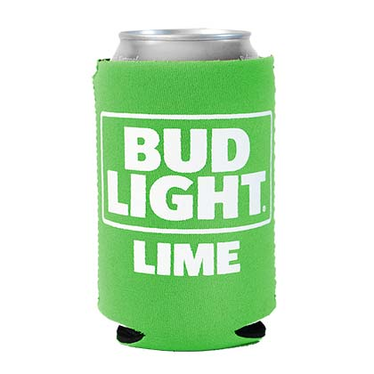 Bud Light Lime Foam Can Cooler