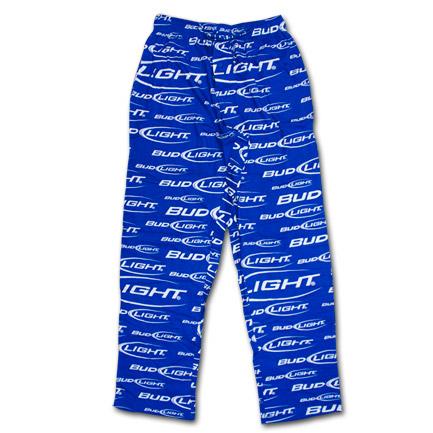 Bud Light Logo Men S Pjs Blue Wearyourbeer Com
