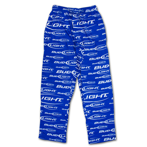 Bud Light Logo Men S Pjs Blue Wearyourbeer Com