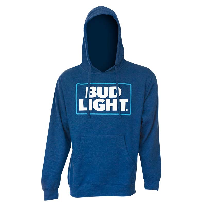 Bud Light Royal Blue Logo Hoodie