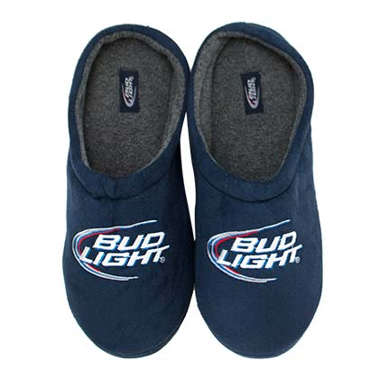 Bud Light Plush Slippers