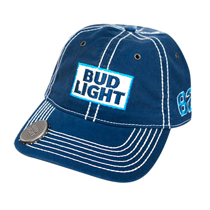 Bud Light Blue Bottle Opener Hat