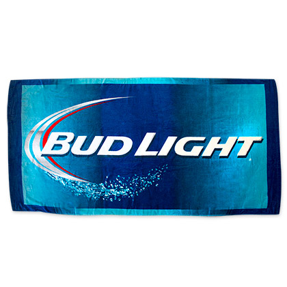 Bud Light Beach Towel