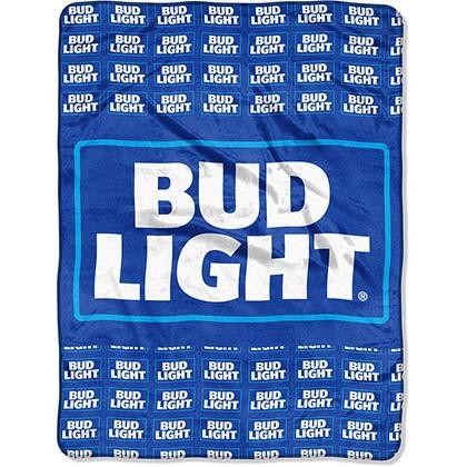 Bud Light Plush Blanket