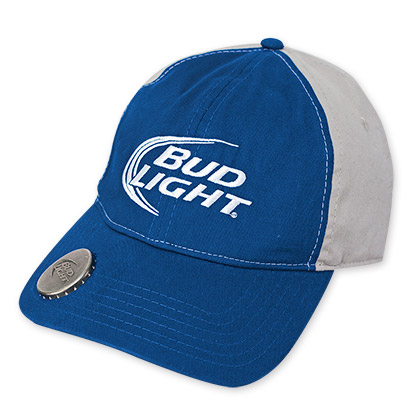 Bud Light Bottle Opener Two-Tone Hat