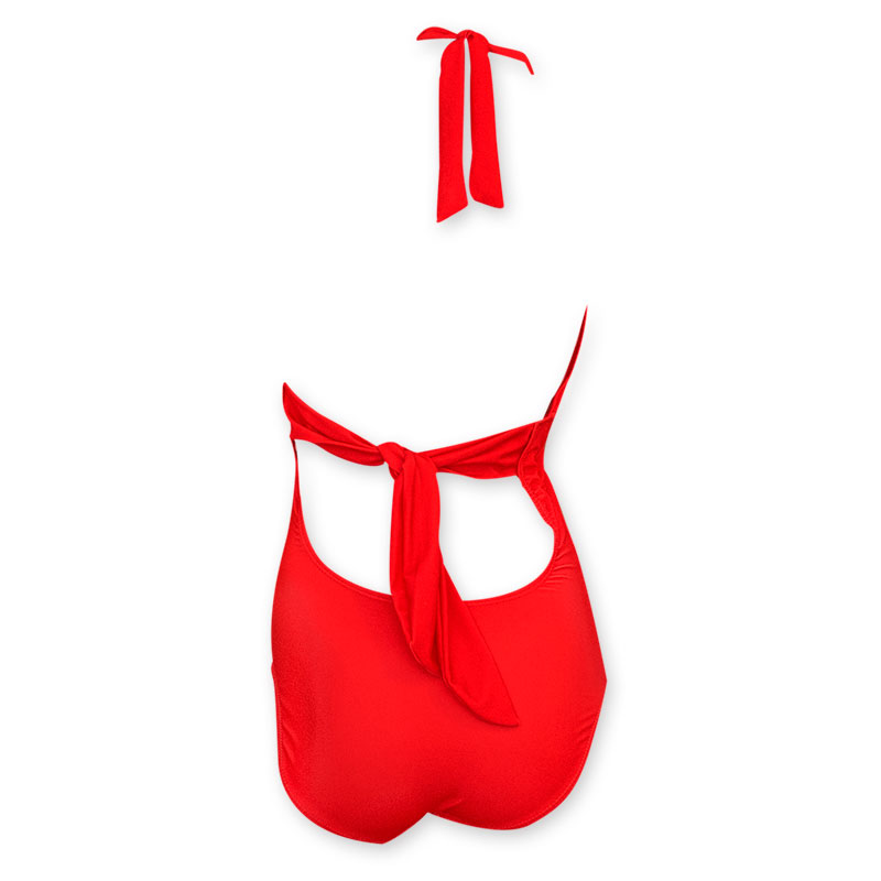 aeac36f4c5 Budweiser Women's Red One Piece Logo Bikini
