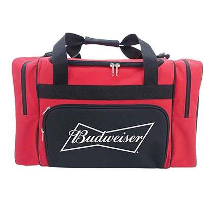 Budweiser Shoulder Strap Duffle Cooler Bag