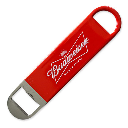 Budweiser Red Beer Style Bottle Opener