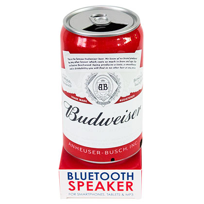 Budweiser Can Portable Bluetooth Speaker