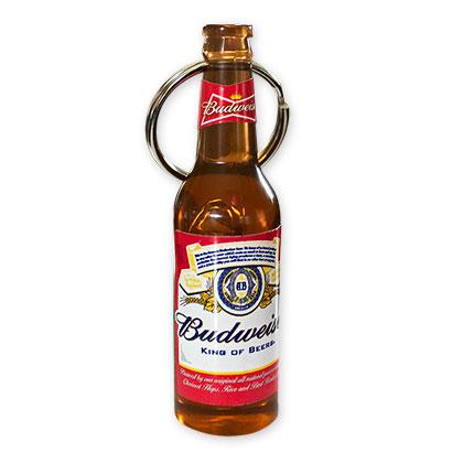 budweiser bottle beer opener keychain. Black Bedroom Furniture Sets. Home Design Ideas