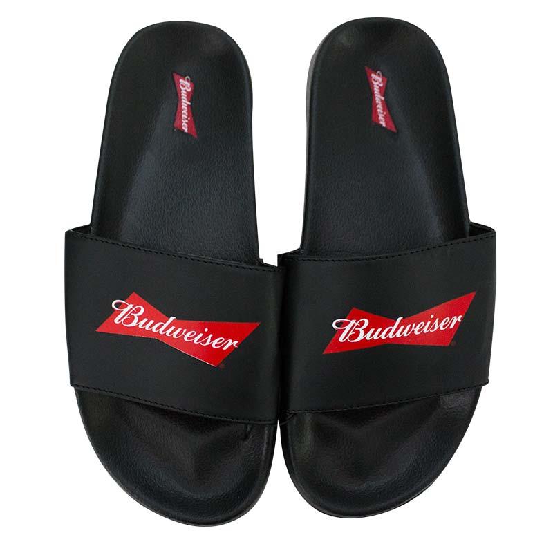 Budweiser Bowtie Soccer Slides Men's Sandals