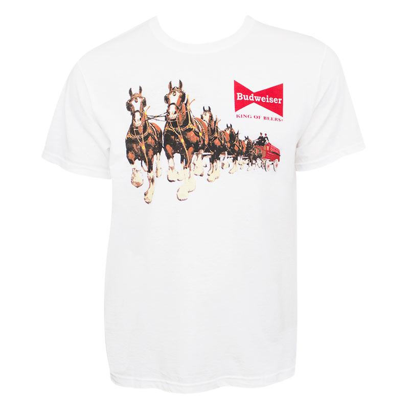 Budweiser Clydesdales Tee Shirt