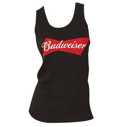 Budweiser Black Logo Women's Tank Top