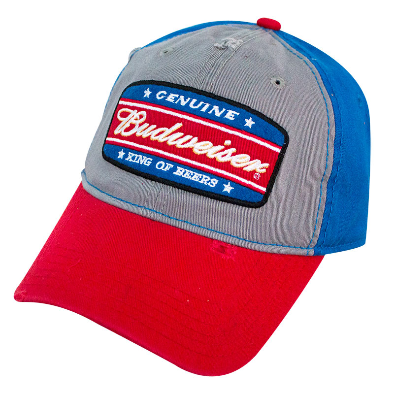 35278c463f4 Budweiser Garnet Wash King Of Beers Hat