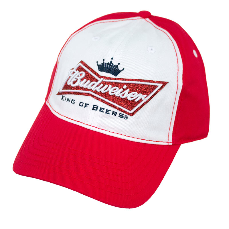 Budweiser Glitter Logo Ladies Hat