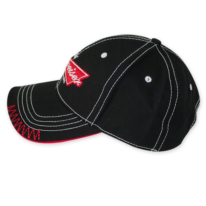 2efc8d7d0638e Budweiser Black Bow Tie Label Hat