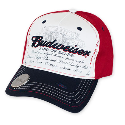Budweiser King Of Beers Bottle Opener Hat