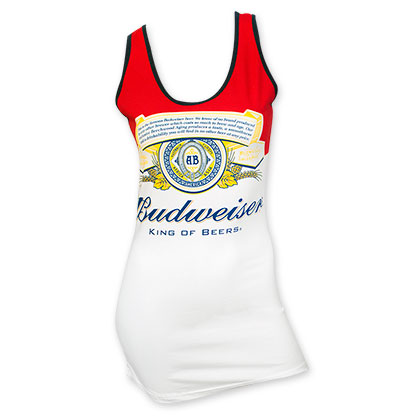 Budweiser Women's Label Tank Top