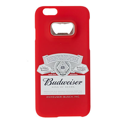 Budweiser iPhone Bottle Opener Case