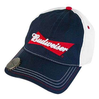 Budweiser Navy Blue Bottle Opener Hat