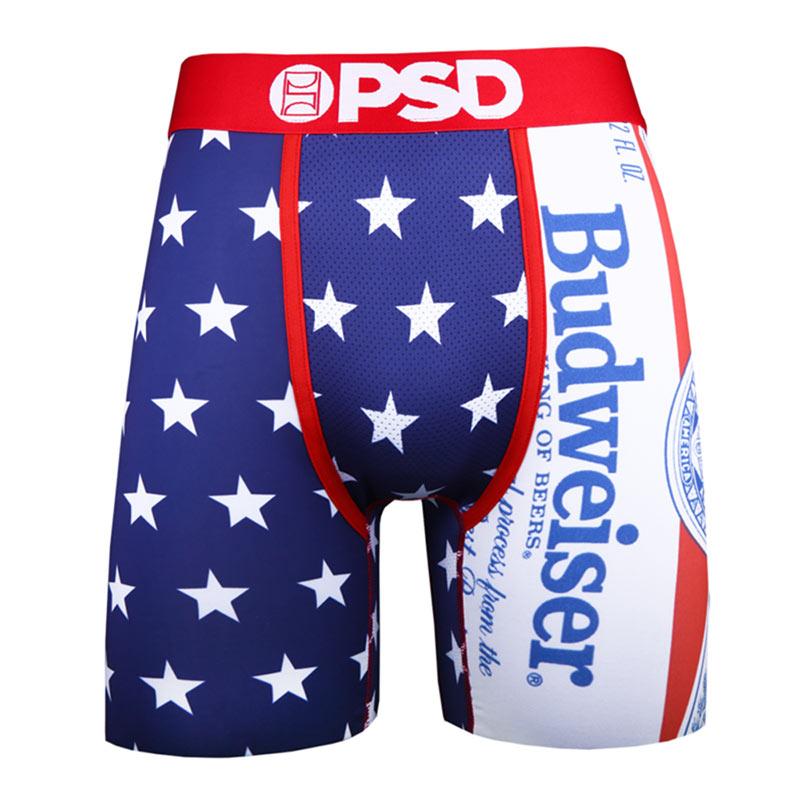 Budweiser Stars American Flag Men's Boxer Briefs