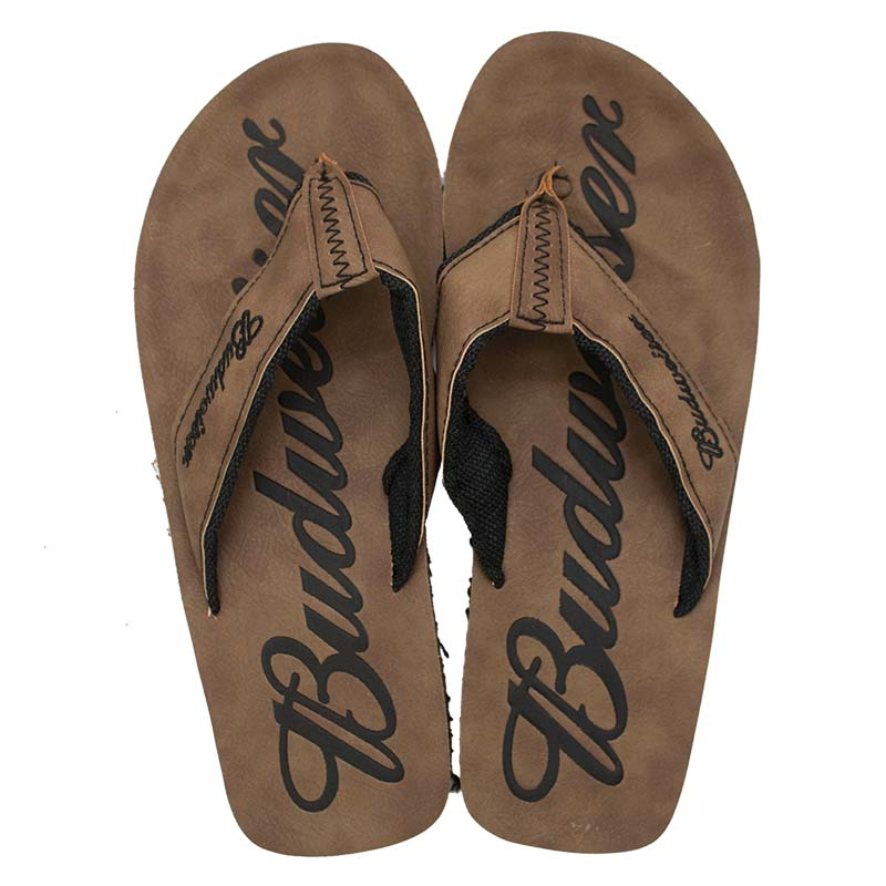 f975b14ef78 Budweiser Brown Suede Sandals