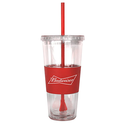 Budweiser Double Wall Travel Cup