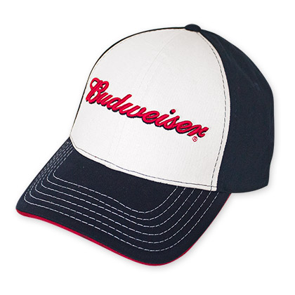 Budweiser Tricolor Hat