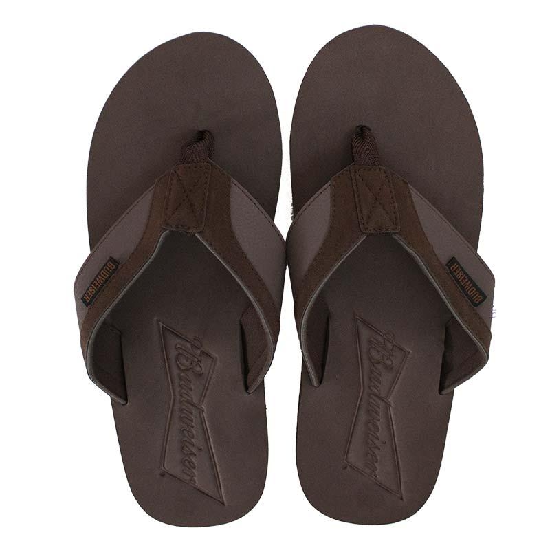Budweiser Brown Men's Sandals