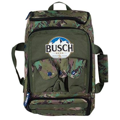Busch Camouflage Duffel Backpack