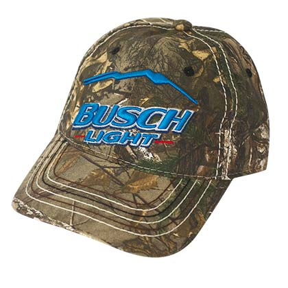 Busch Light Hunter Camo Hat