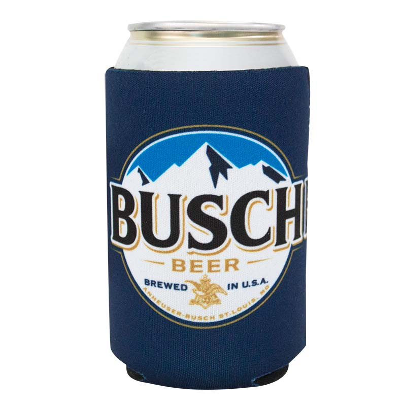Busch Beer Navy Blue Buscchhhhh Can Insulator