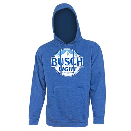 Busch Light Men's Royal Blue Hoodie